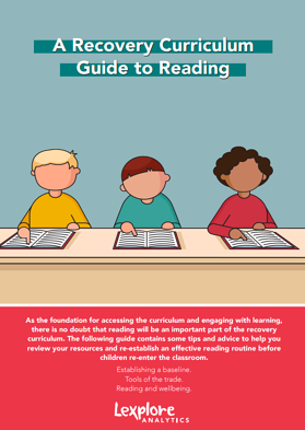 Recovery Curriculum Guide to Reading Cover